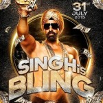 Akshay Kumar Singh is Bling releasing on 31 July 2015