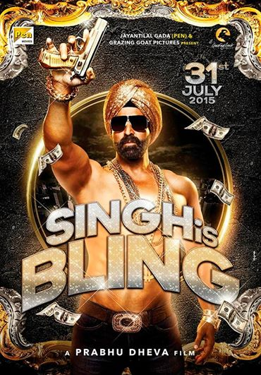 Akshay Kumar starrer Singh is Bling set to release on 31 July 2015