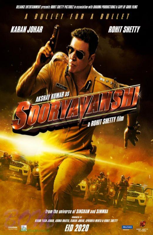 Akshay Kumar starrer Sooryavanshi to release in cinemas on 30 July 2020