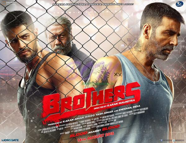 Akshay Kumar upcoming Brothers First Look Poster
