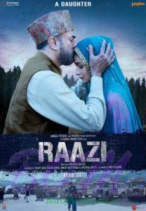 Ali Bhatt starrer Raazi movie poster