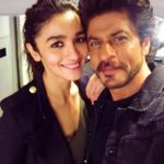 Alia Bhatt cute selfie with Shahrukh Khan