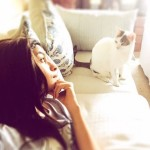 Alia Bhatt with her cute pet