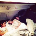 Alia Katrina and Parineeti sleeping together during Dream Team tour