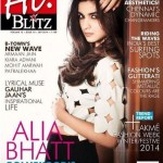 Alia bhatt on the Cover of 'HI! Blitz' Magazine September 2014 issue