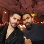 Aman Anand selfie with Varun Dhawan during INCA India