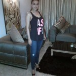 Ameesha Patel - Taken at home .. A quik pik before leaving the house last evng..especially for all my tweethearts