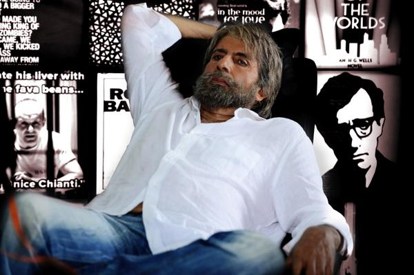 Amitabh Bachchan Shamitabh movie look picture