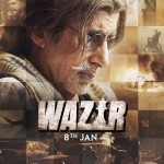 Amitabh Bachchan Wazir movie poster