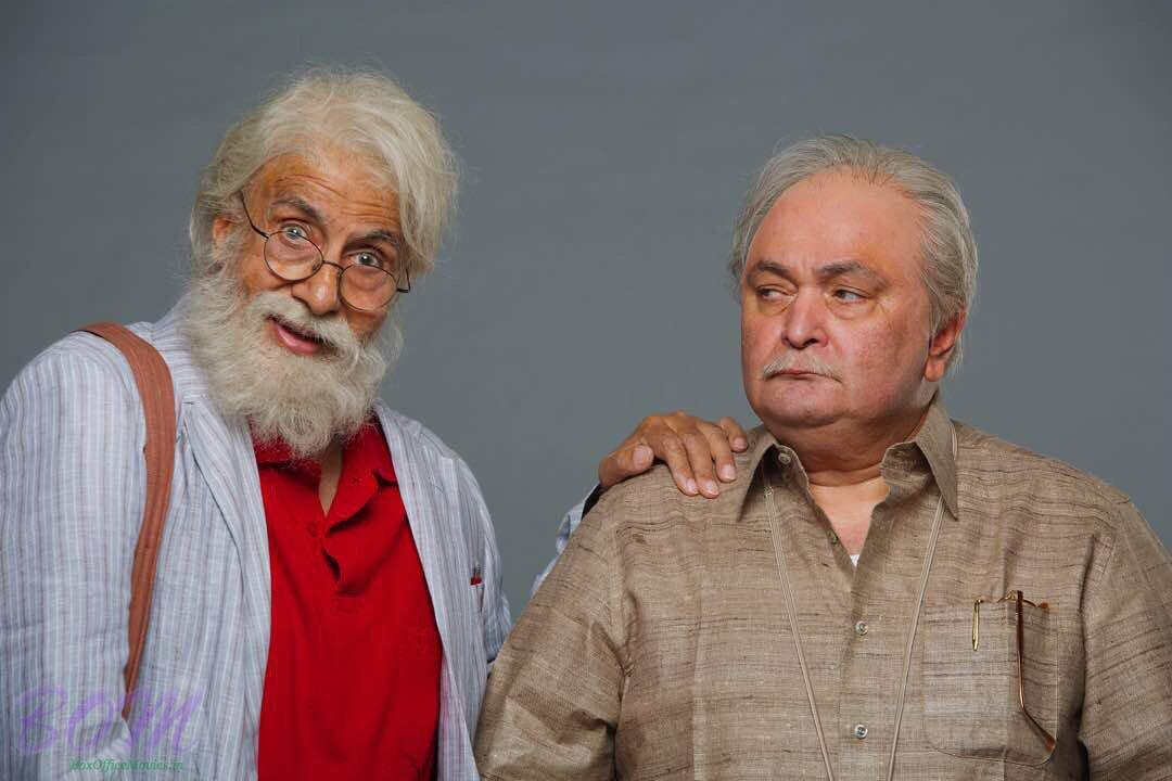 Amitabh Bachchan and Rishi Kapoor look in 102 Not Out movie