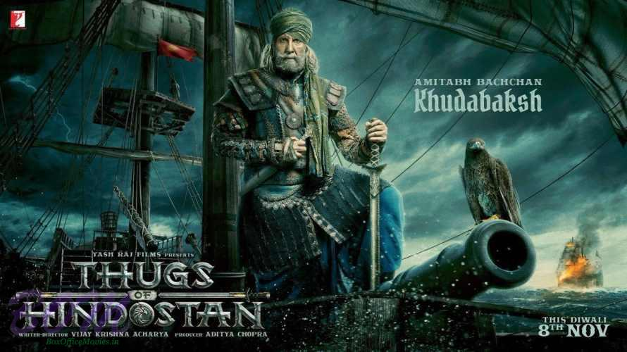 Amitabh Bachchan as Khudabaksh in Thugs of Hindostan