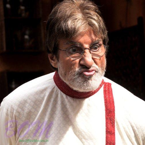Amitabh Bachchan at the turnstiles among 50 degrees on the sets almost