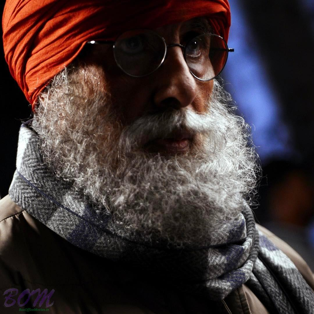 Amitabh Bachchan old person look for new movie