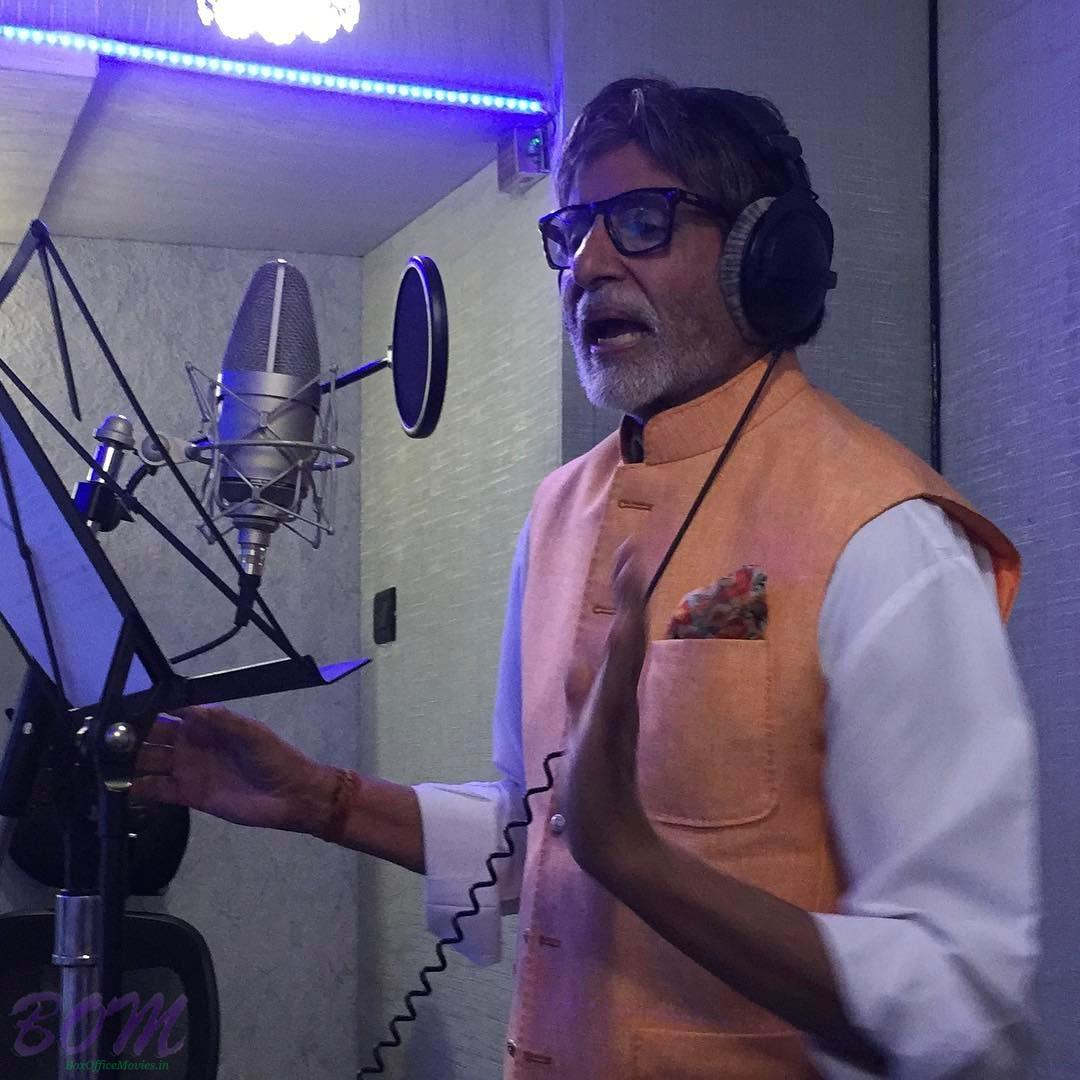 Amitabh Bachchan sang for Brahmaputra river song with Papon