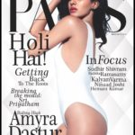 Amyra Dastur cover girl for Hyderabad Paws March 2017 issue