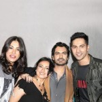 An Unseen Picture of Varun Dhawan, Nargis Fakhri with Nawazuddin and Divya Dutta