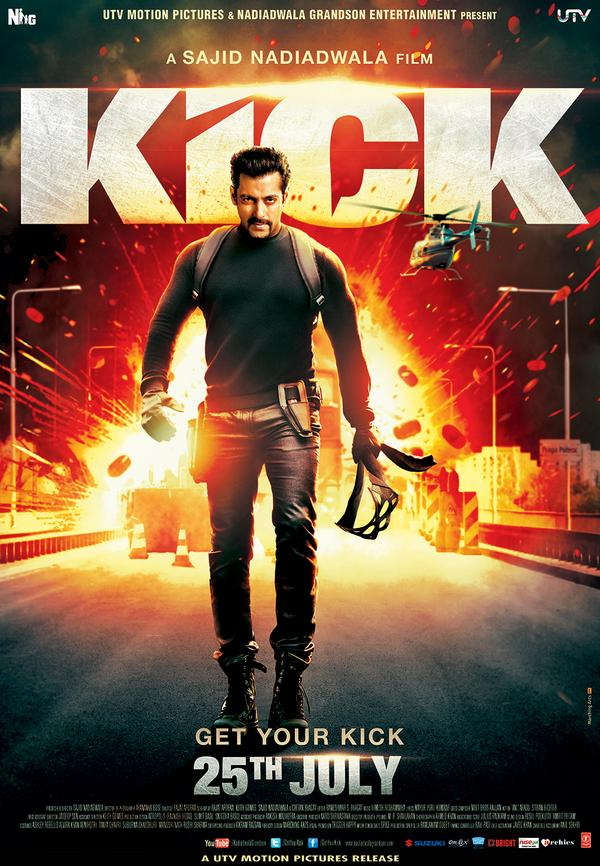 KICK movie releasing date is 25 July 2014