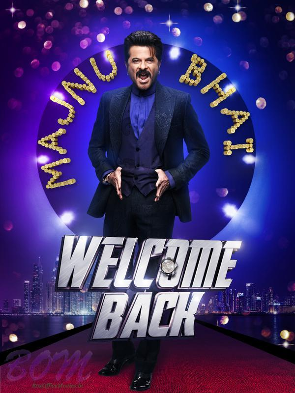 Anil Kapoor first look in Welcome Back