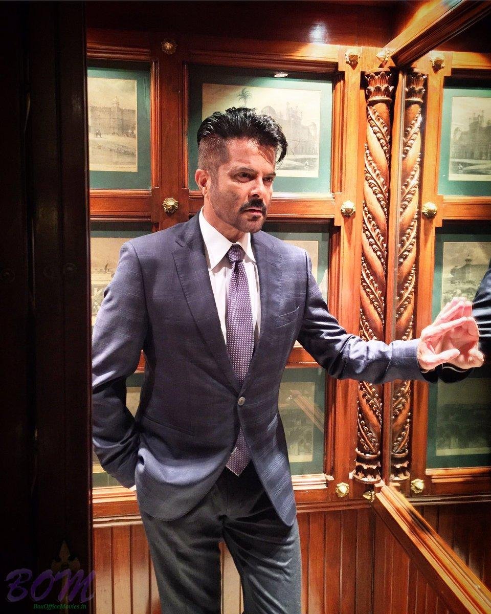 Anil Kapoor new stylish look in December 2016