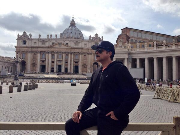 Anil Kapoor share the picture 'Created by Man and touched by the hand of God. The Magnificent Vatican'
