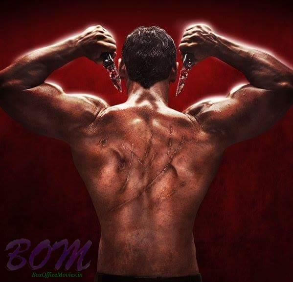 Another look of handosome hunk John Abraham in Rocky Handsome movie
