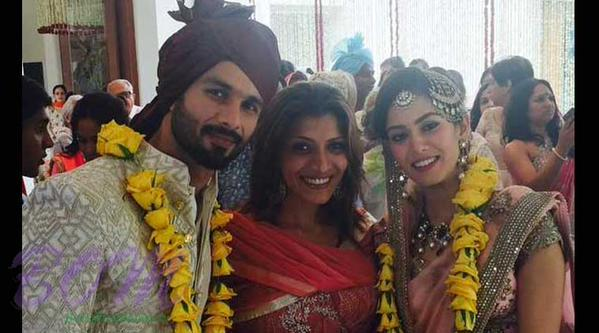 Another lovely picture of Shahid Kapoor with wife Mira Rajput