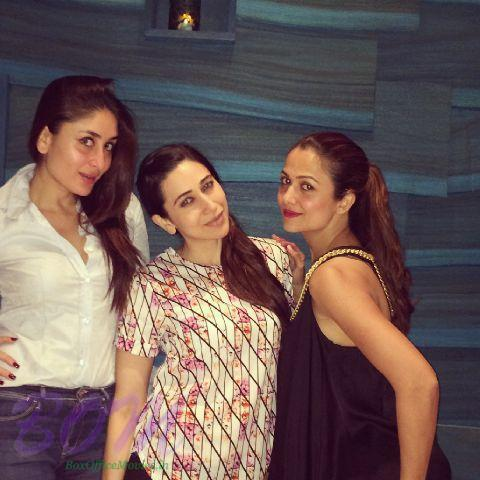 Kareena Kapoor with sister Karisma and bestie Amrita Arora
