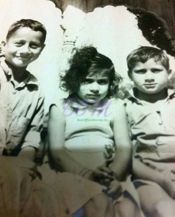Anupam Kher Childhood picture