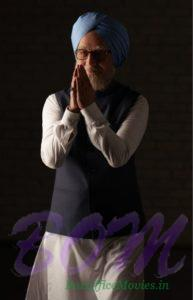 Anupam Kher The Accidental Prime Minister Look