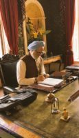 Anupam Kher and Akshaye Khanna look in The Accidental Prime Minister