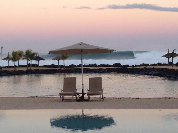 Anupam Kher taken this picture named 'Postcard from Mauritius'