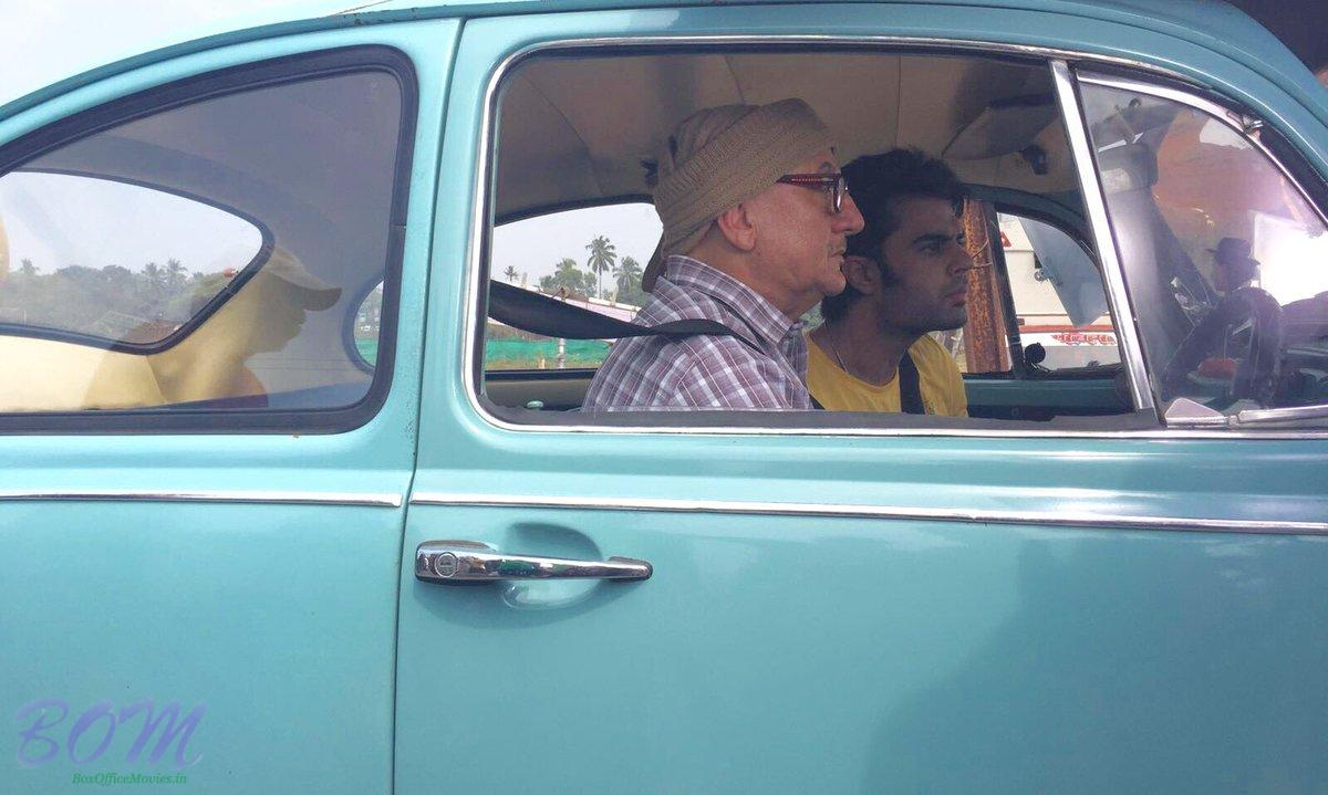Anupam Kher's First Look of First Day shoot of Baa Baaa Black Sheep in Goa