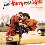 Anushaka and SRK romantic poster of Jab Harry Met Sejal