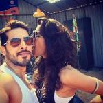 Anushka Manchanda ‏hot picture with Dino Morea