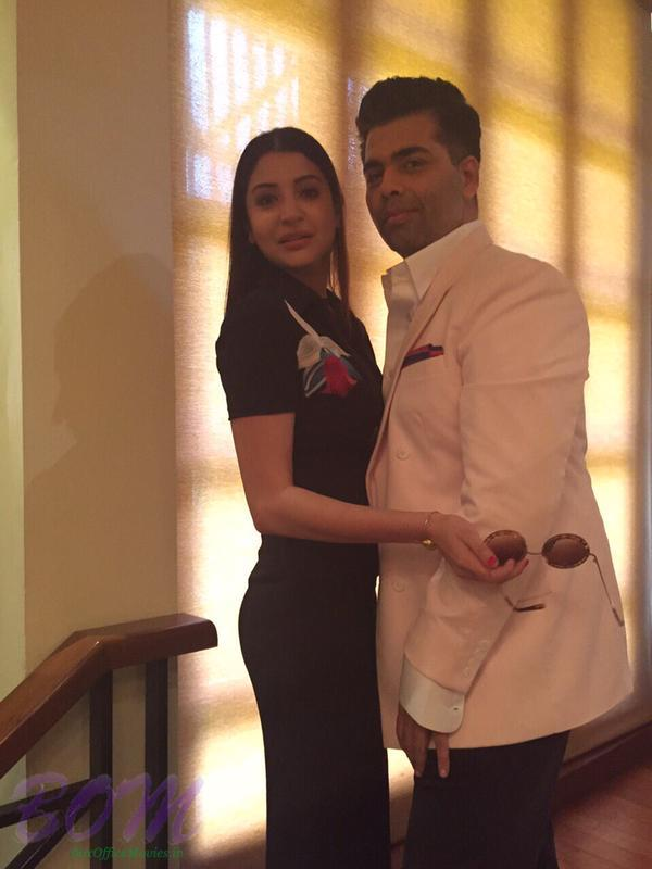 Anushka Sharma and Karan Johar together