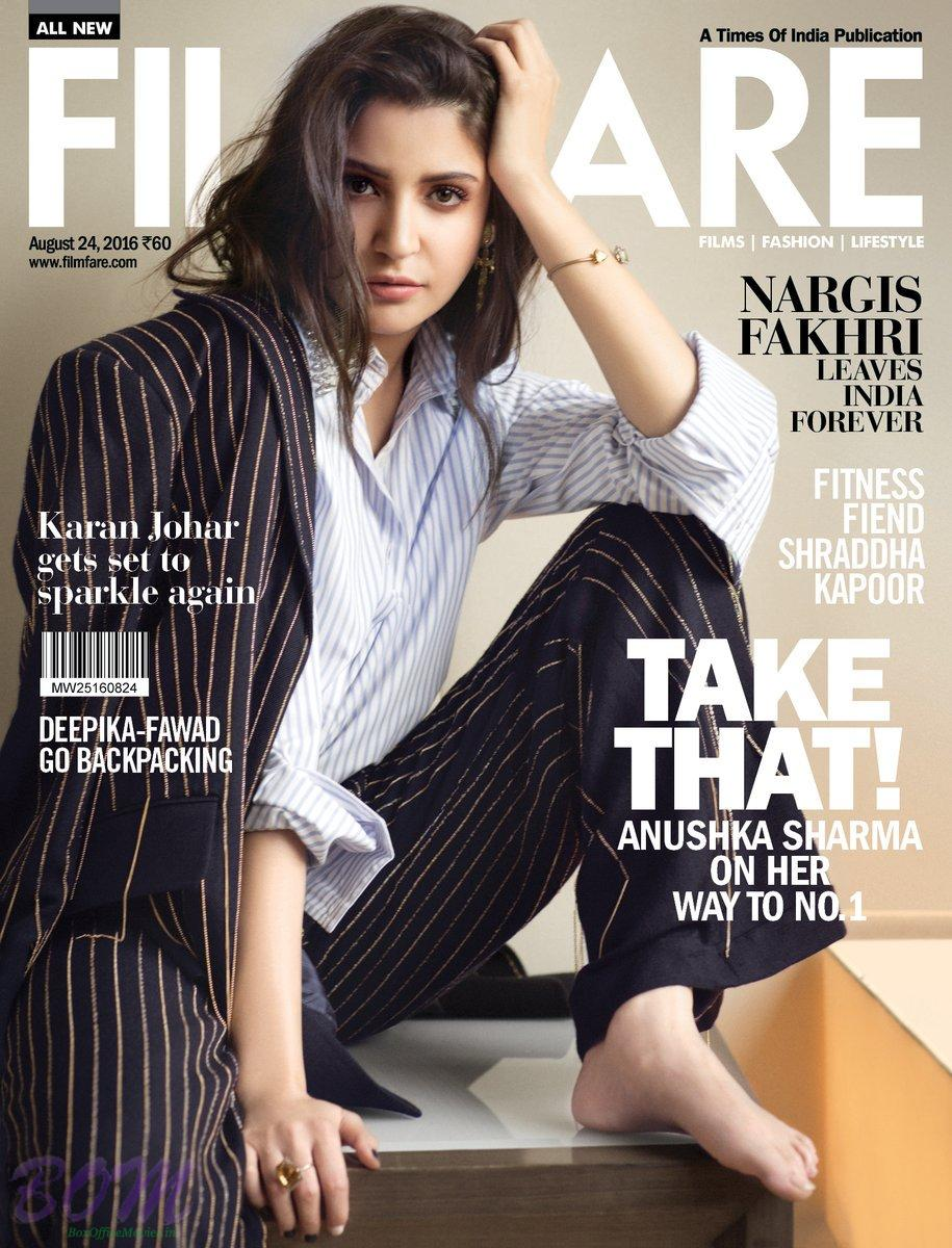 Anushka Sharma becomes cover girl for FILMFARE August 2016 issue