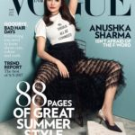 Anushka Sharma cover girl for Vogue Magazine March 2017 issue