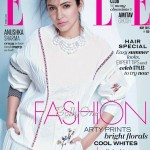 Anushka Sharma cover page girl for Elle Magazine May 2015 issue