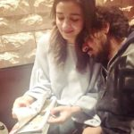 A stranger resting on the shoulders of Alia Bhatt