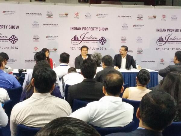 Arbaaz Khan at Indian Property Show 2014
