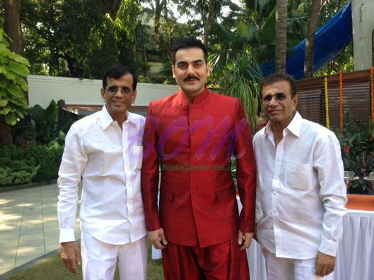 Arbaaz Khan on the first day shott for Abbas Mastan's new film