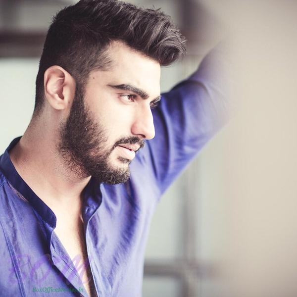 Arjun Kapoor in a new nouveau hair do