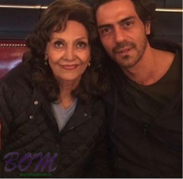 Arjun Rampal shared this pic on Mothers Day 2017