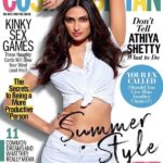 Athiya Shetty as cover girl for Cosmopolitan Magazine April 2018 issue