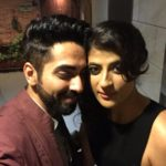 Ayushmann Khurrana‏ picture with wife