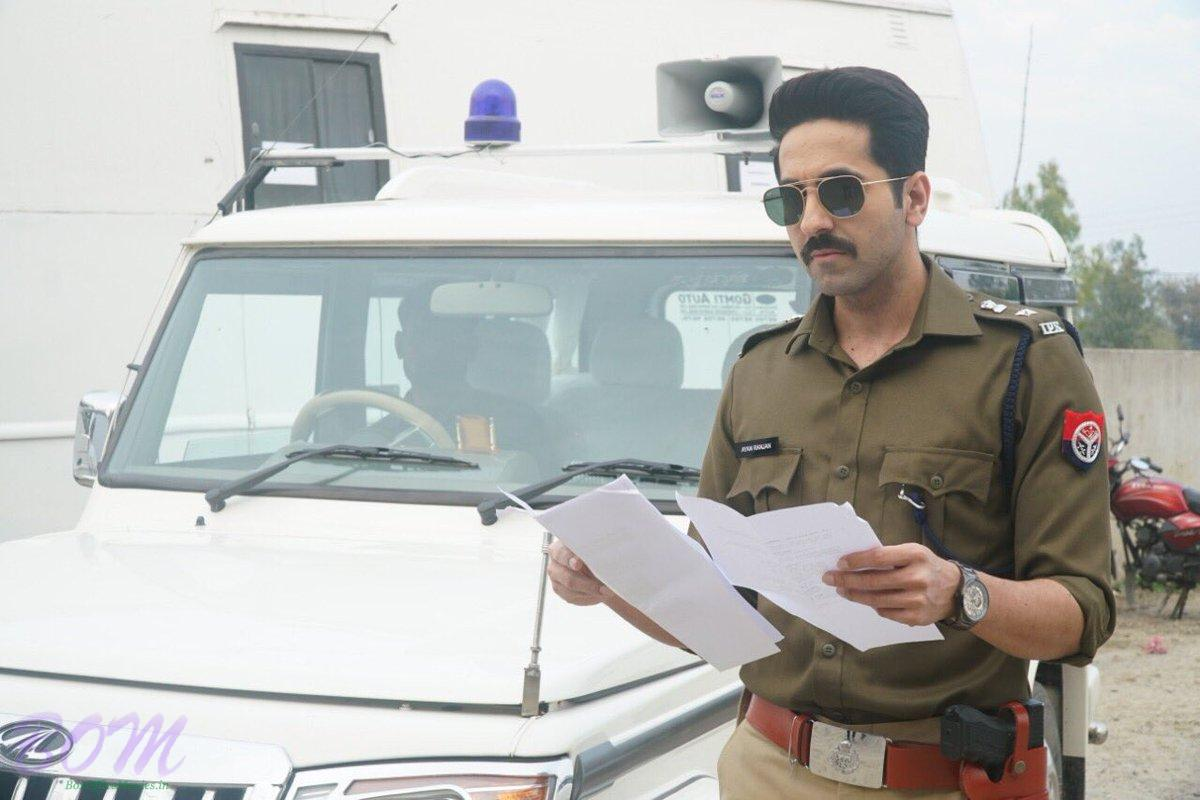 Ayushmann Khurrana first look as officer in Article 15 movie