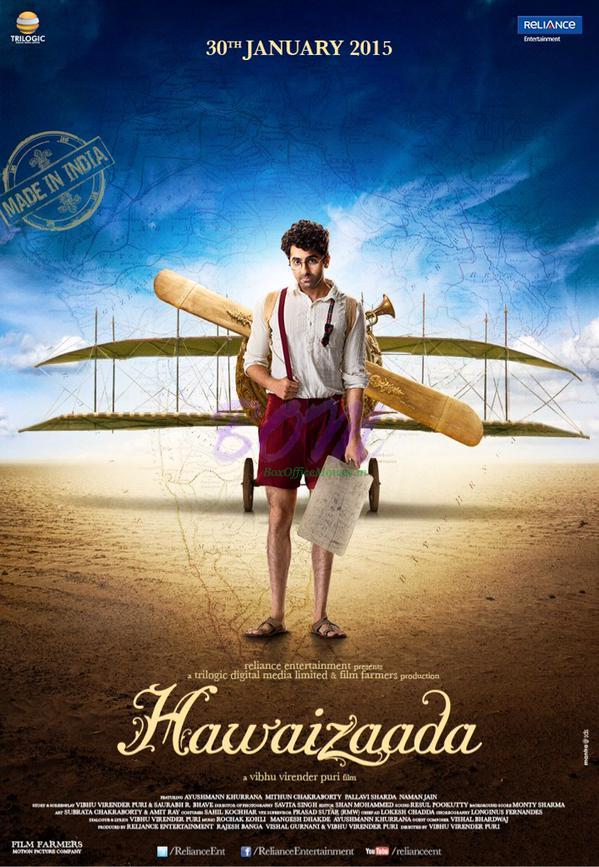Ayushmann Khurrana starrer Hawaizaada Movie First look