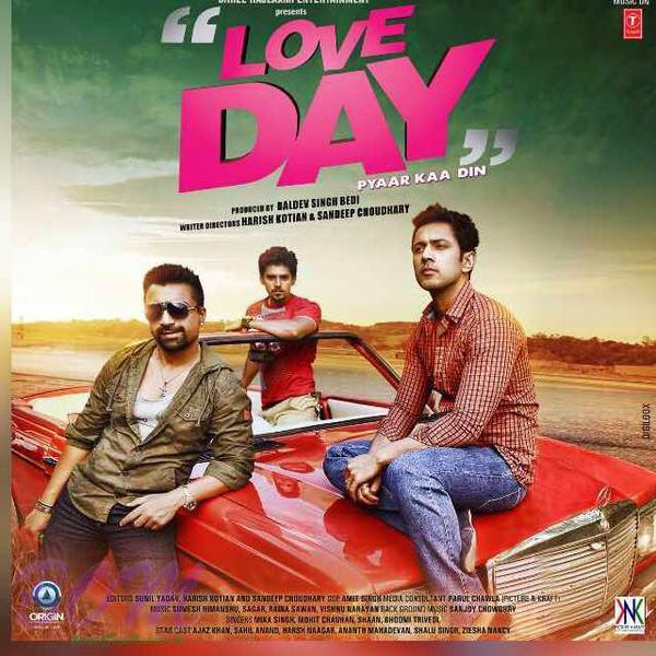 Azaz Khan starrer Love Day movie poster