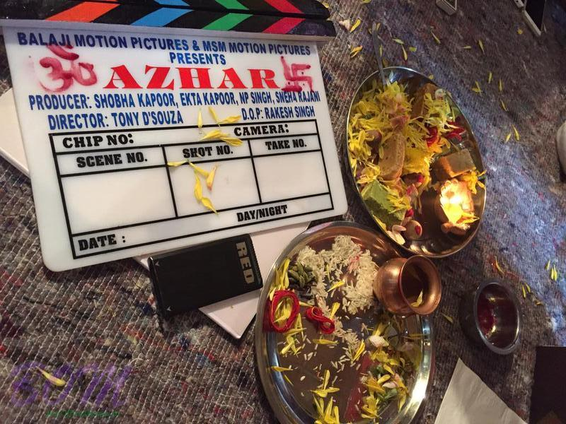 Azhar movie shooting begins from 25 July 2015