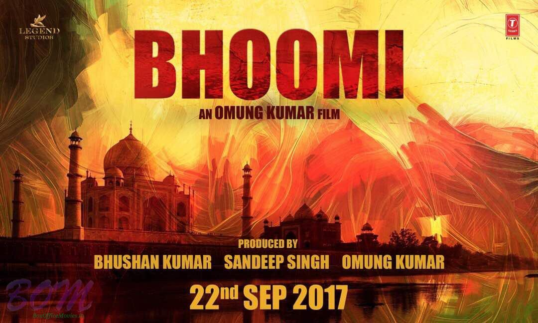 Teaser Poster of Sanjay Dutt starrer Bhoomi rescheduled to release on 22nd Sep 217
